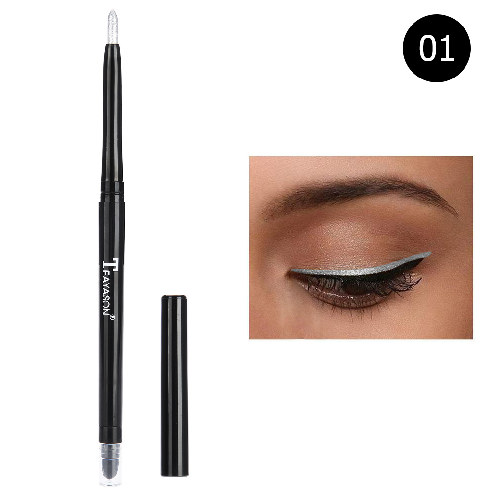 12-colors-Glitter-Lip-liner-Eye-Shadow-Pencil-Cosmetic-Makeup-Pen-Eyeliner-Tool thumbnail 11