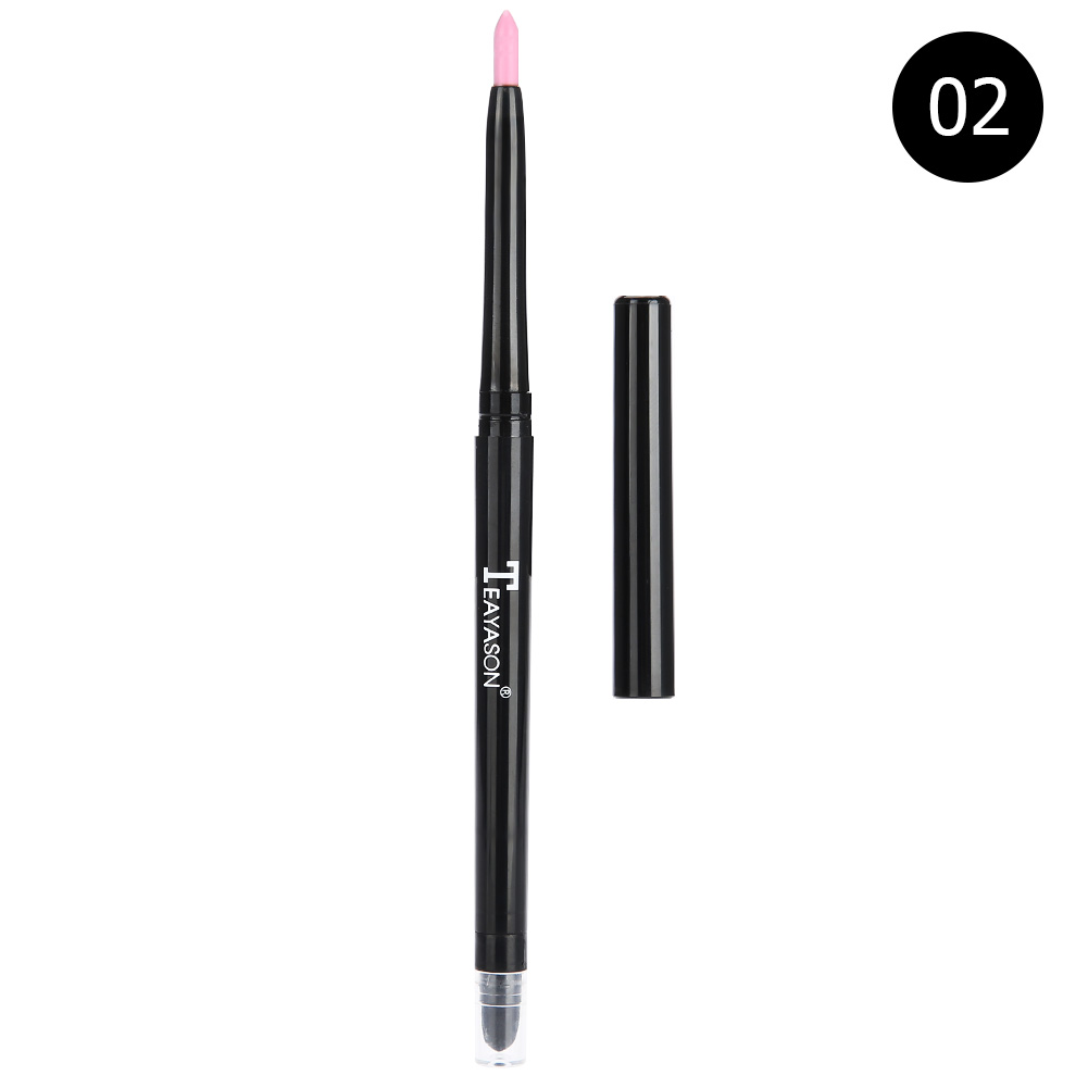 12-colors-Glitter-Lip-liner-Eye-Shadow-Pencil-Cosmetic-Makeup-Pen-Eyeliner-Tool thumbnail 13
