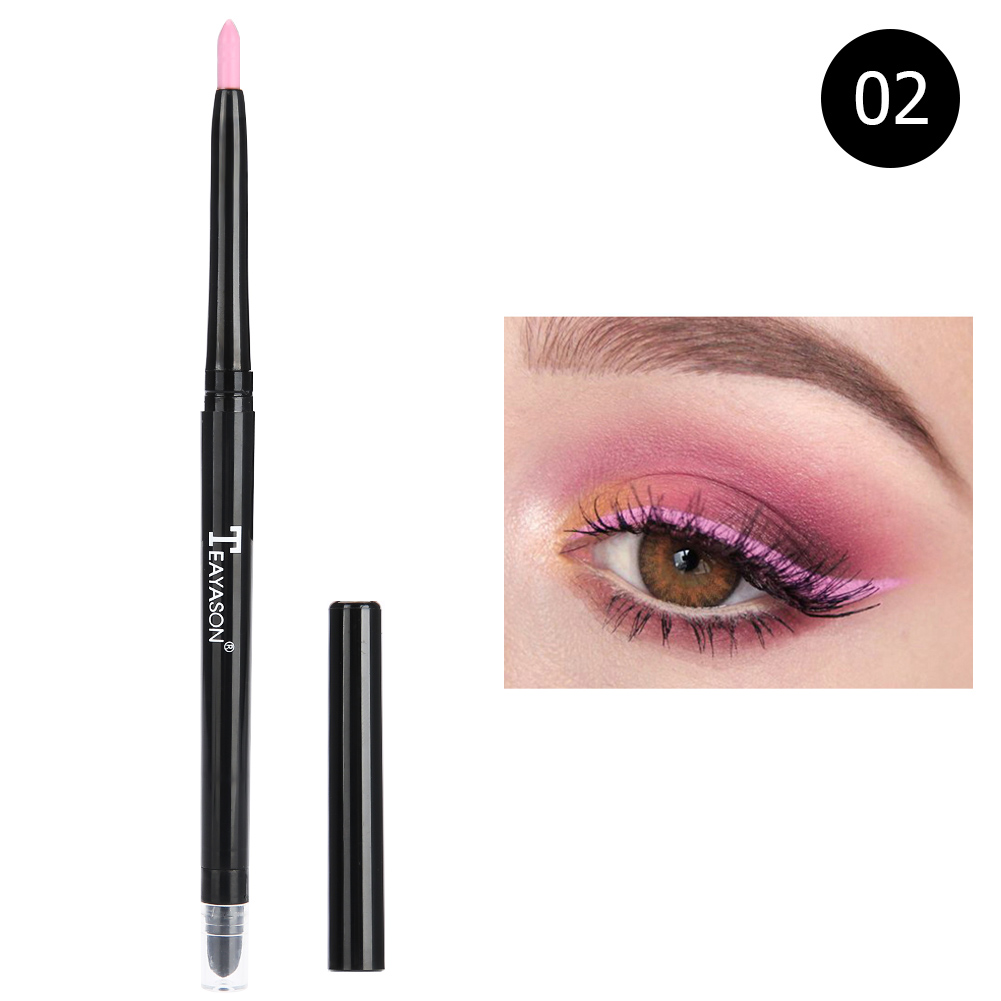 12-colors-Glitter-Lip-liner-Eye-Shadow-Pencil-Cosmetic-Makeup-Pen-Eyeliner-Tool thumbnail 14