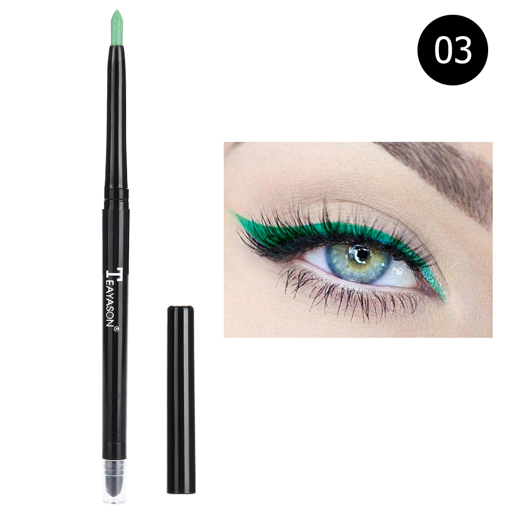 12-colors-Glitter-Lip-liner-Eye-Shadow-Pencil-Cosmetic-Makeup-Pen-Eyeliner-Tool thumbnail 17
