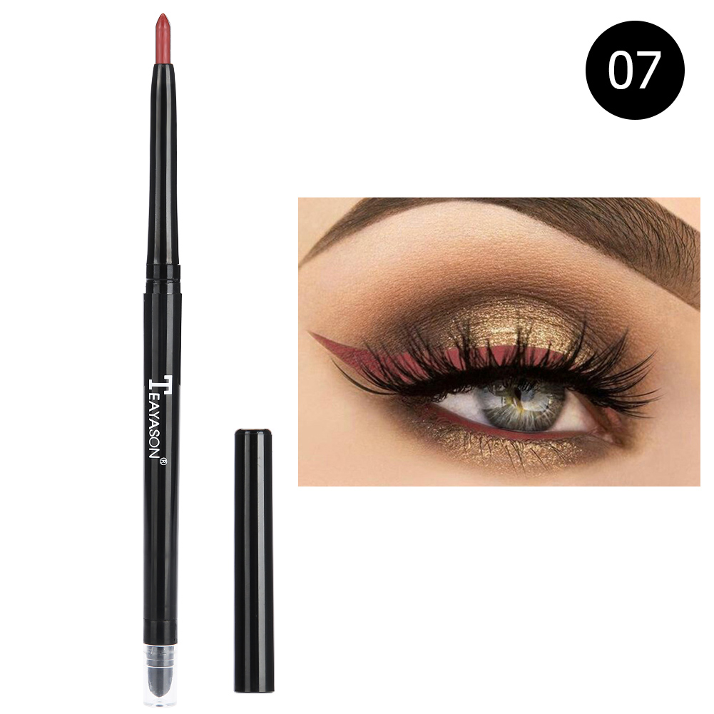 12-colors-Glitter-Lip-liner-Eye-Shadow-Pencil-Cosmetic-Makeup-Pen-Eyeliner-Tool thumbnail 29
