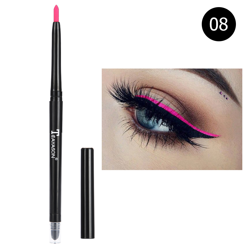 12-colors-Glitter-Lip-liner-Eye-Shadow-Pencil-Cosmetic-Makeup-Pen-Eyeliner-Tool thumbnail 32