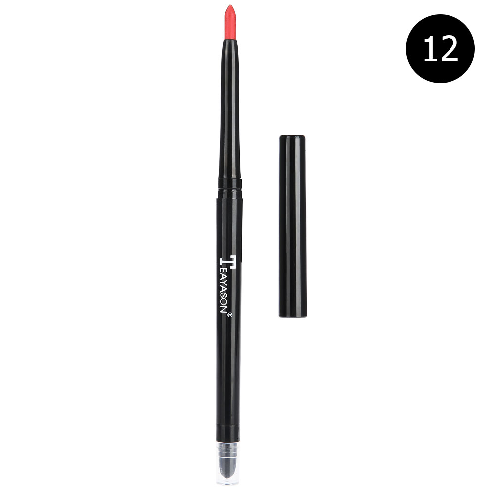 12-colors-Glitter-Lip-liner-Eye-Shadow-Pencil-Cosmetic-Makeup-Pen-Eyeliner-Tool thumbnail 43