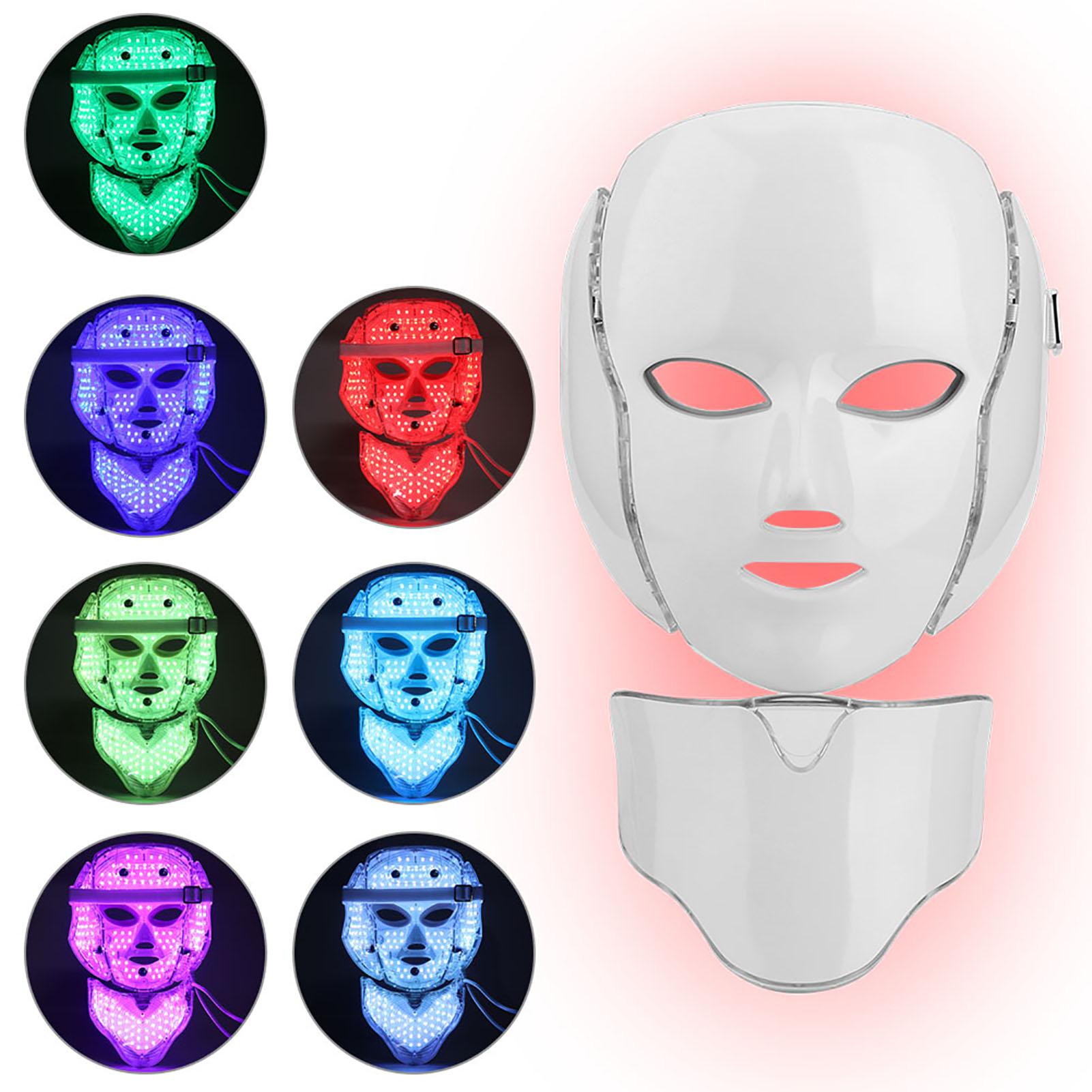 7-Colors-LED-Light-Photodynamic-Facial-Skin-Rejuvenation-Photon-Therapy-Machine miniature 19