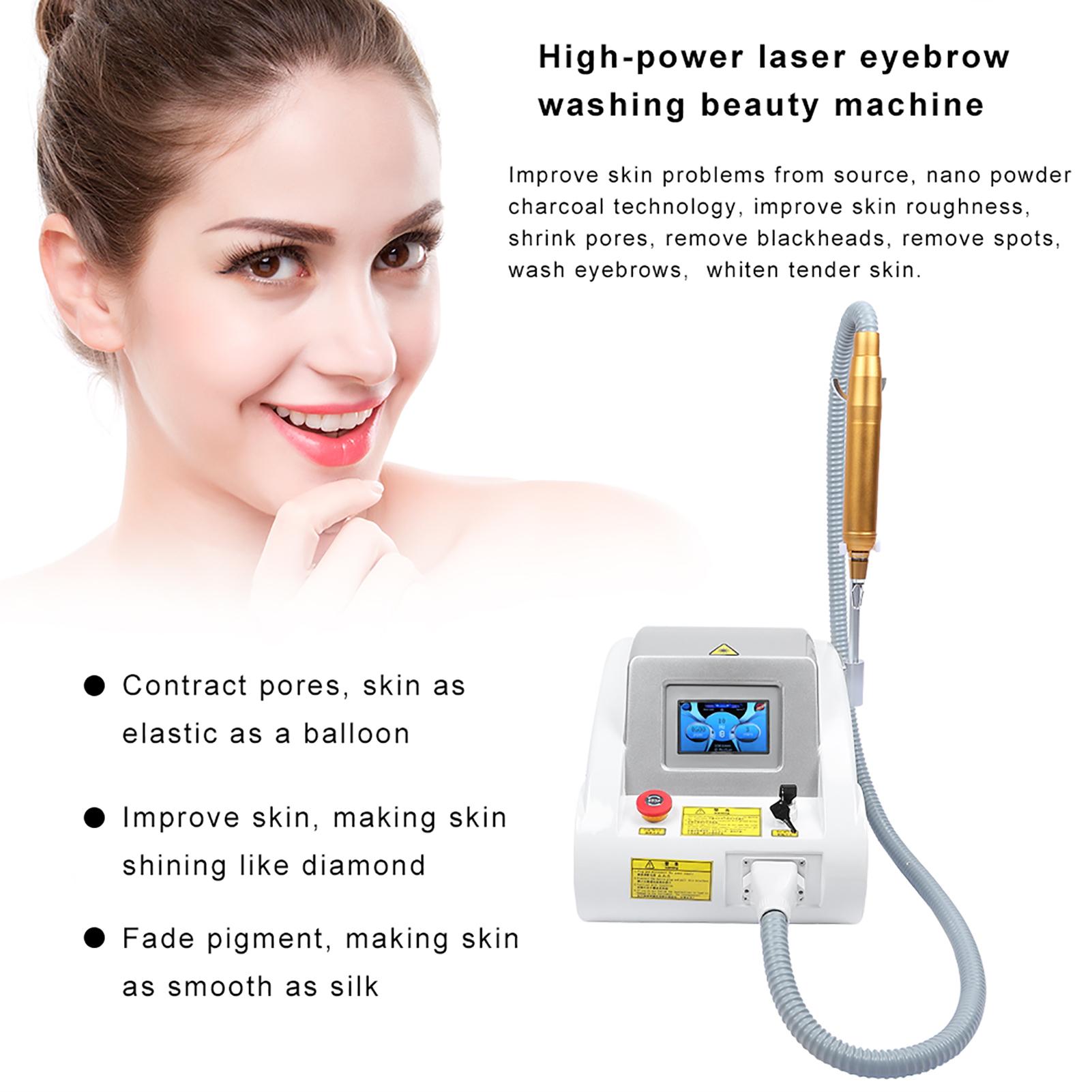 Q Switch Nd Yag Laser Eyebrow Tattoo Removal Skin ...