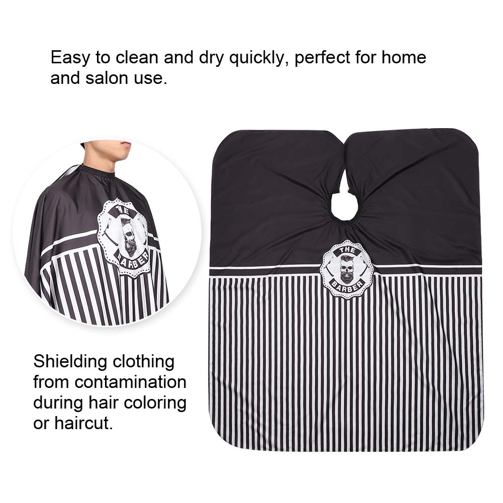 Indexbild 31 - Large Hair Cutting Cape Salon Hairdressing / Hairdresser Gown Barber Cloth Apron