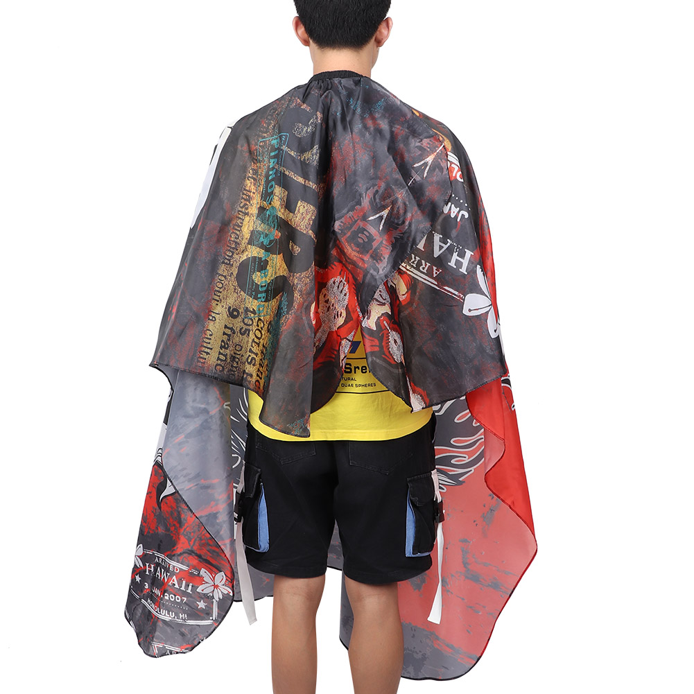 Indexbild 45 - Large Hair Cutting Cape Salon Hairdressing / Hairdresser Gown Barber Cloth Apron