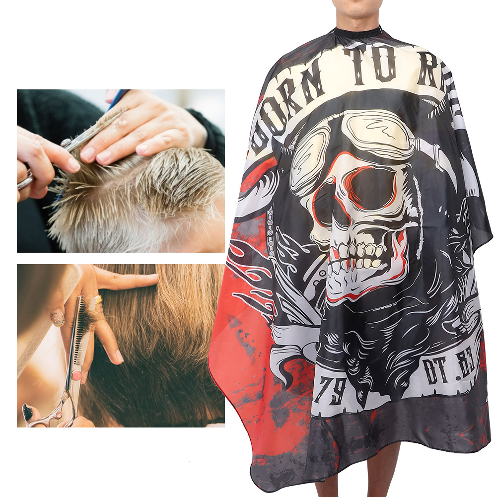 Indexbild 41 - Large Hair Cutting Cape Salon Hairdressing / Hairdresser Gown Barber Cloth Apron
