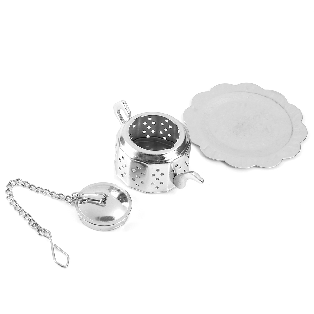 Tea-Ball-Strainer-Infuser-Stainless-Steel-Filter-Squeezer-Herb-Leaf-Spice-Star thumbnail 26