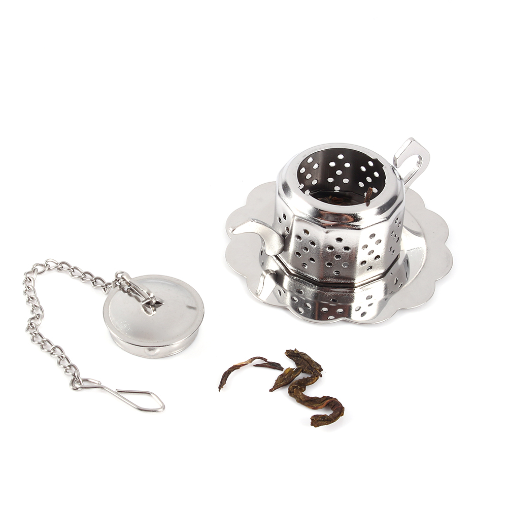 Tea-Ball-Strainer-Infuser-Stainless-Steel-Filter-Squeezer-Herb-Leaf-Spice-Star thumbnail 27