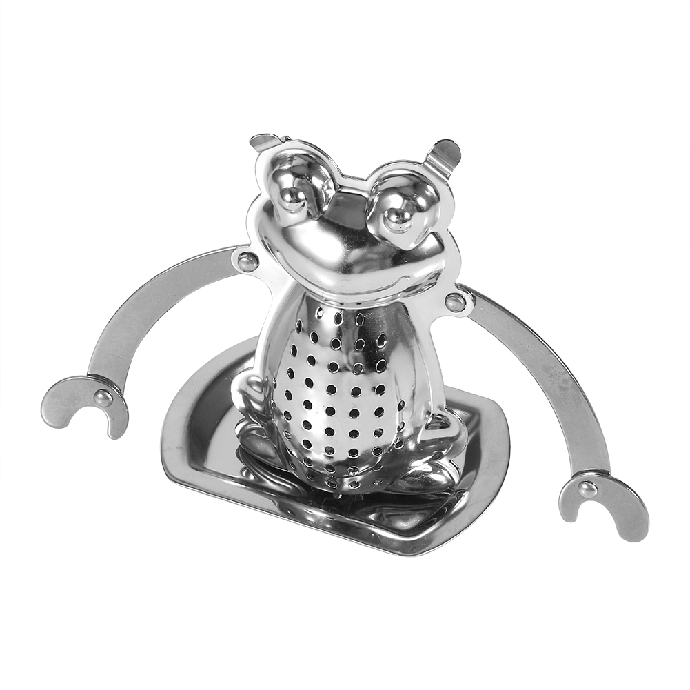 Tea-Ball-Strainer-Infuser-Stainless-Steel-Filter-Squeezer-Herb-Leaf-Spice-Star thumbnail 44