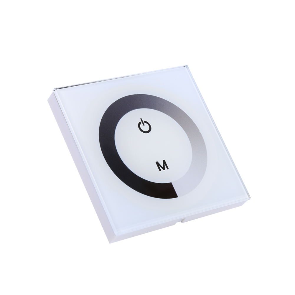 Wall Mounted Sensitive Touch Panel Led Light Dimmer