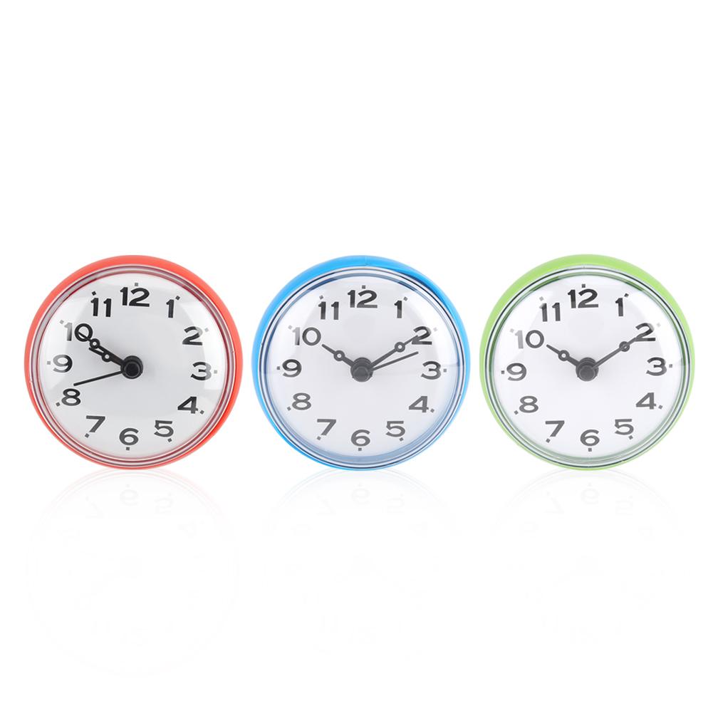 Orologio Da Parete Con Ventosa Per Cucina Bagno Doccia Vari Colori