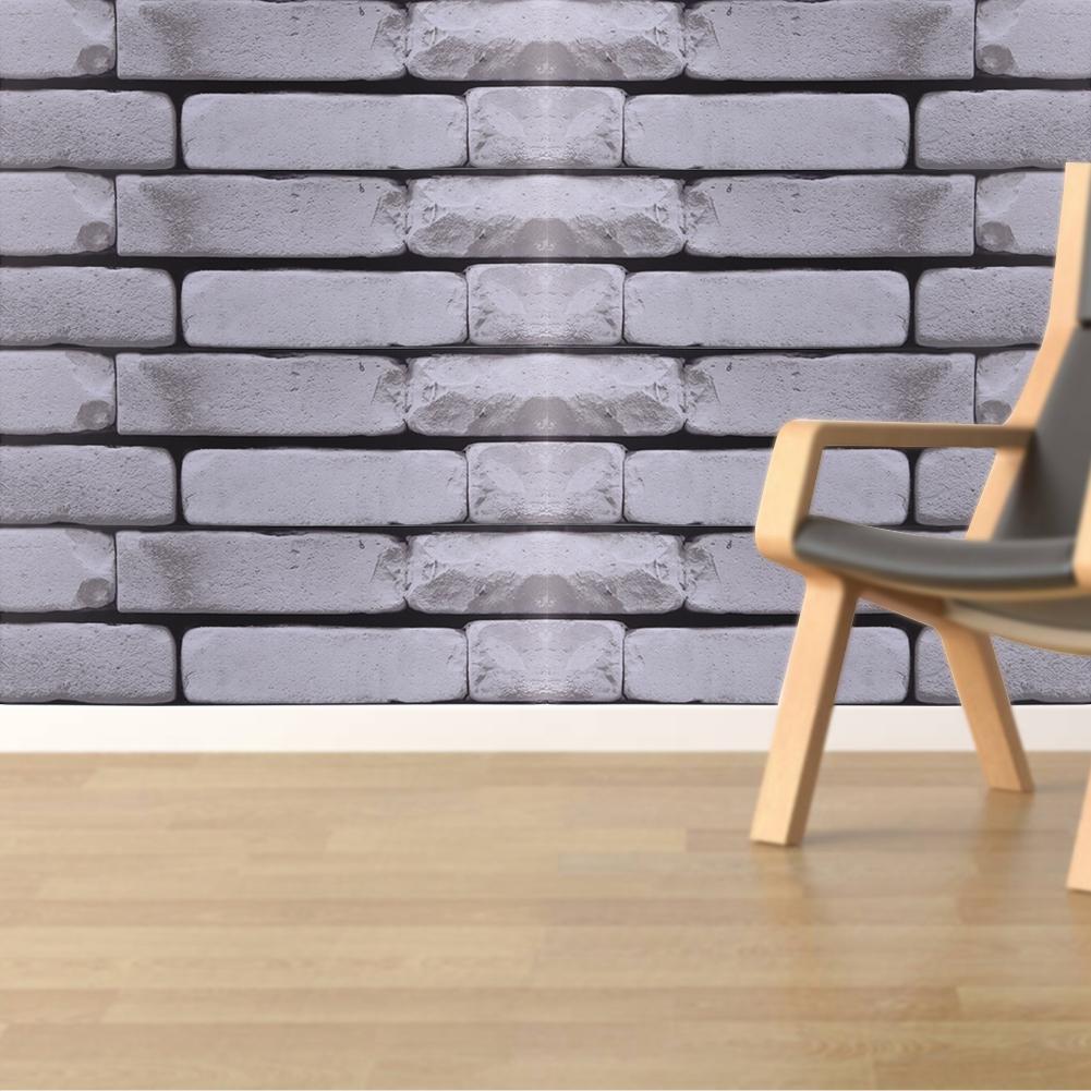 500x20cm selbstklebende 3d fliesen wandbilder boden. Black Bedroom Furniture Sets. Home Design Ideas