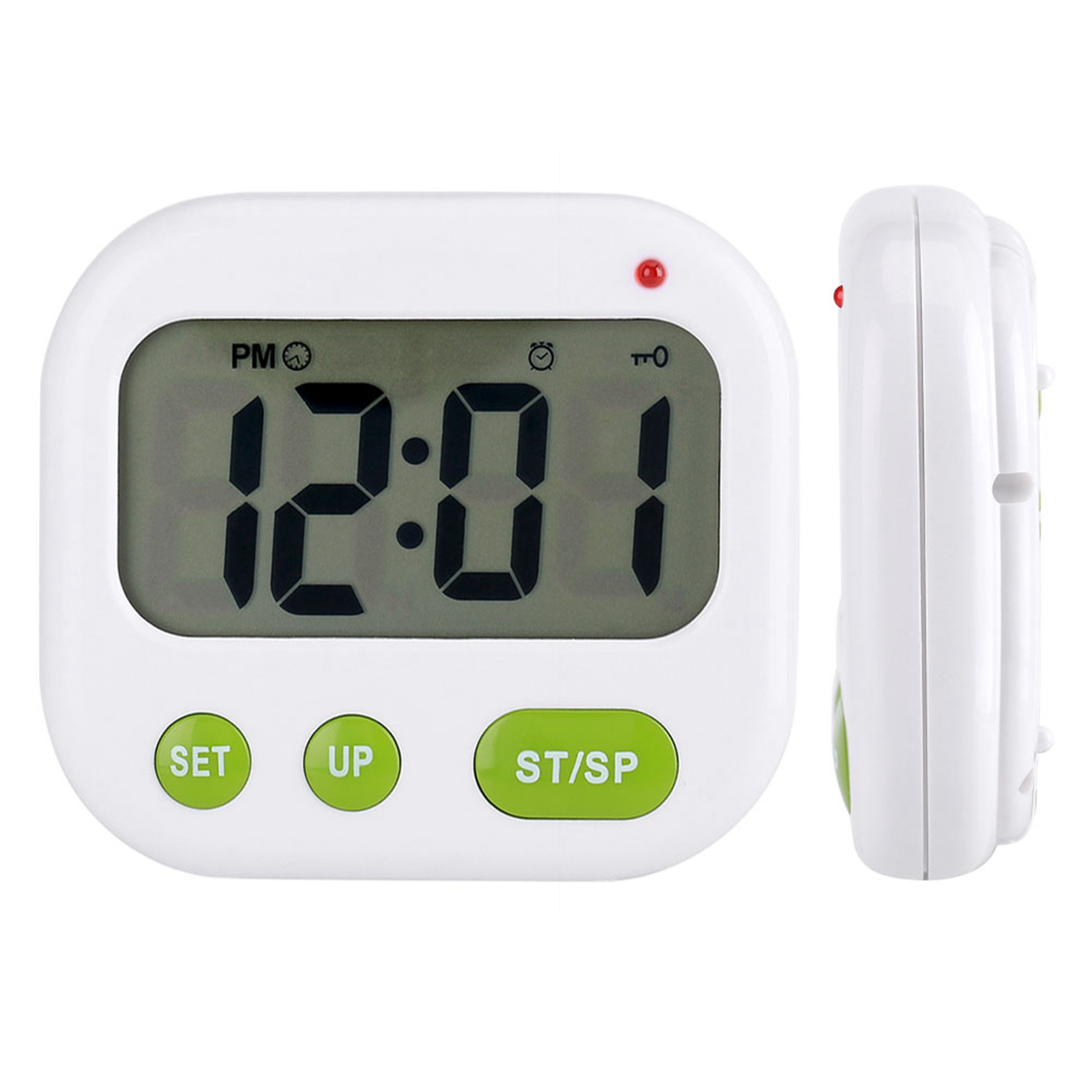 Music LCD Digital Kitchen Timer Count Down Cooking Alarm