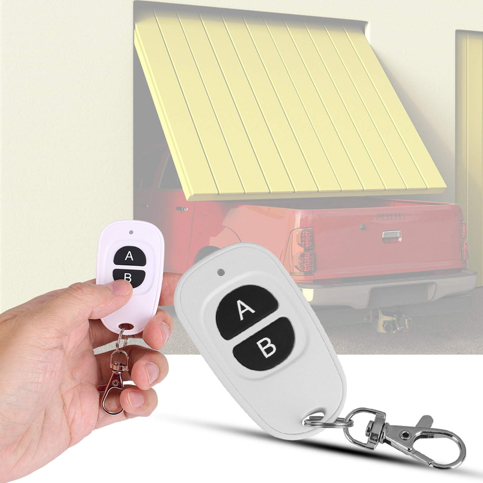 433MHz-EV1527-RF-Wireless-Transmitter-Garage-Door-1-4-Channel-Key-Remote-Control miniature 27