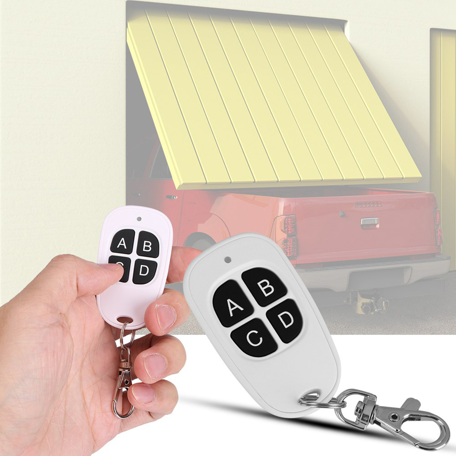 433MHz-EV1527-RF-Wireless-Transmitter-Garage-Door-1-4-Channel-Key-Remote-Control miniature 47