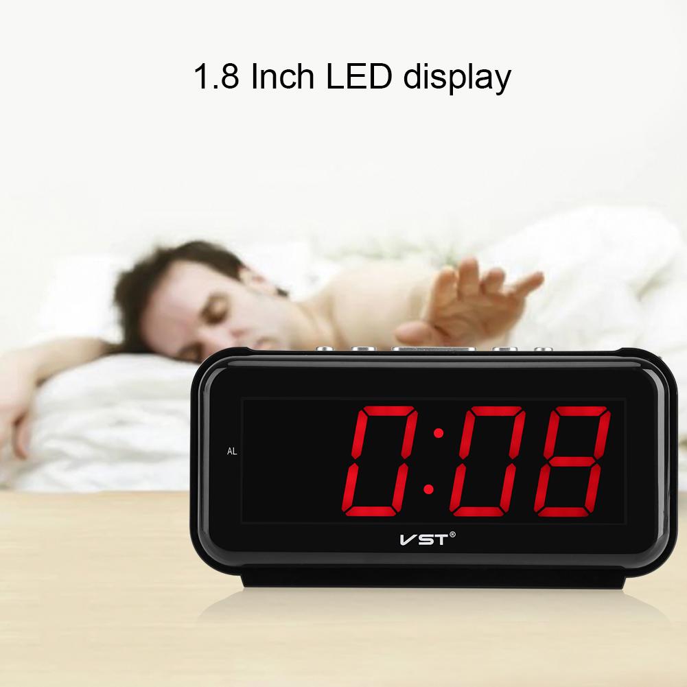 220V-Electronic-Table-Digital-Alarm-Clock-Desktop-LED-Display-Snooze-EU-Plug-LJ thumbnail 20