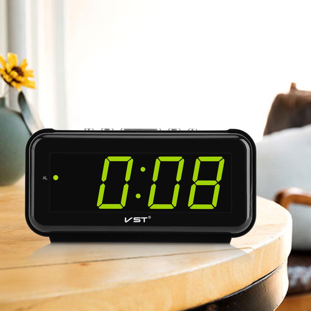 220V-Electronic-Table-Digital-Alarm-Clock-Desktop-LED-Display-Snooze-EU-Plug-LJ thumbnail 30