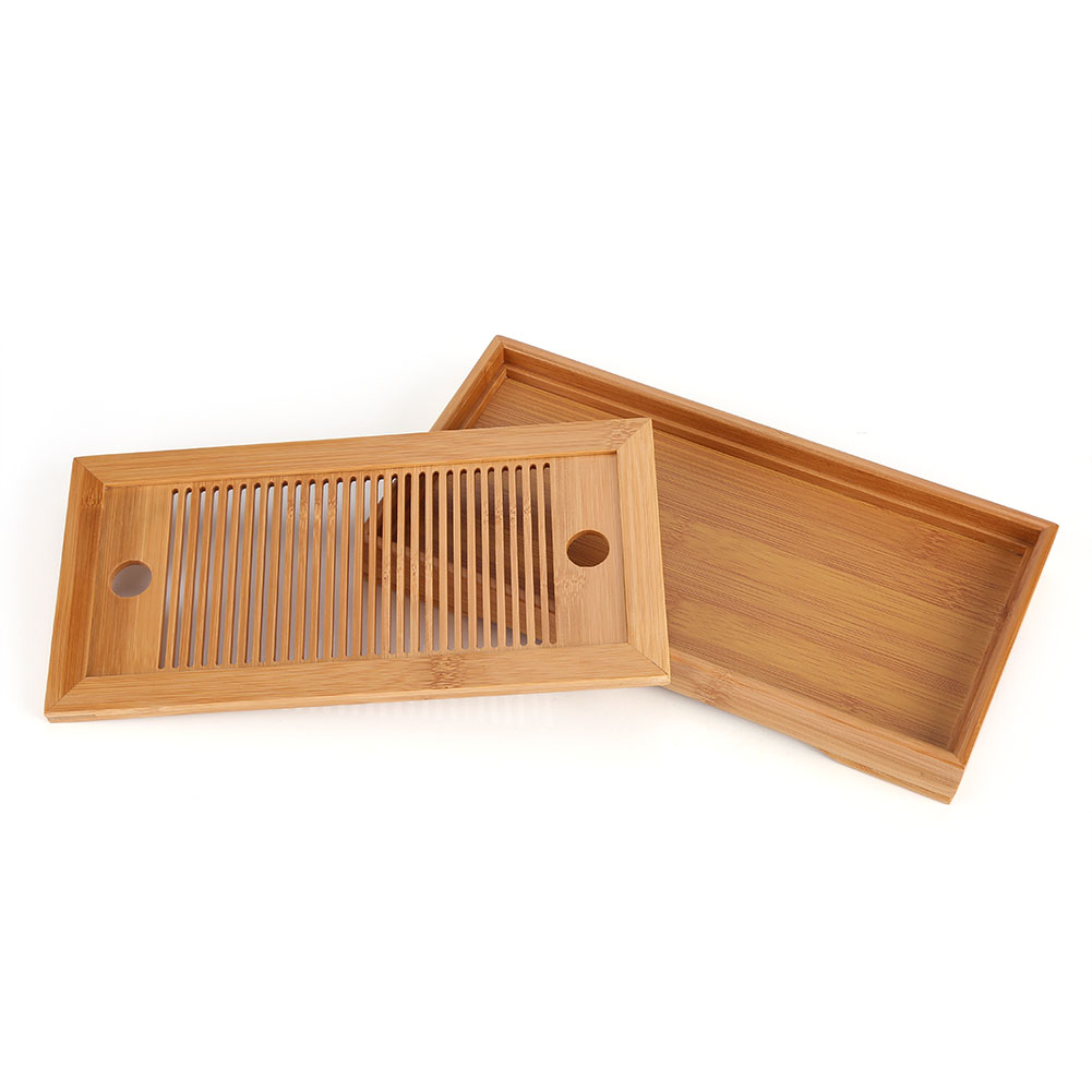 Bamboo-Wood-Serving-Tray-Tea-Food-Server-Dishes-Round-Rectangle-Wooden-Plate-GL