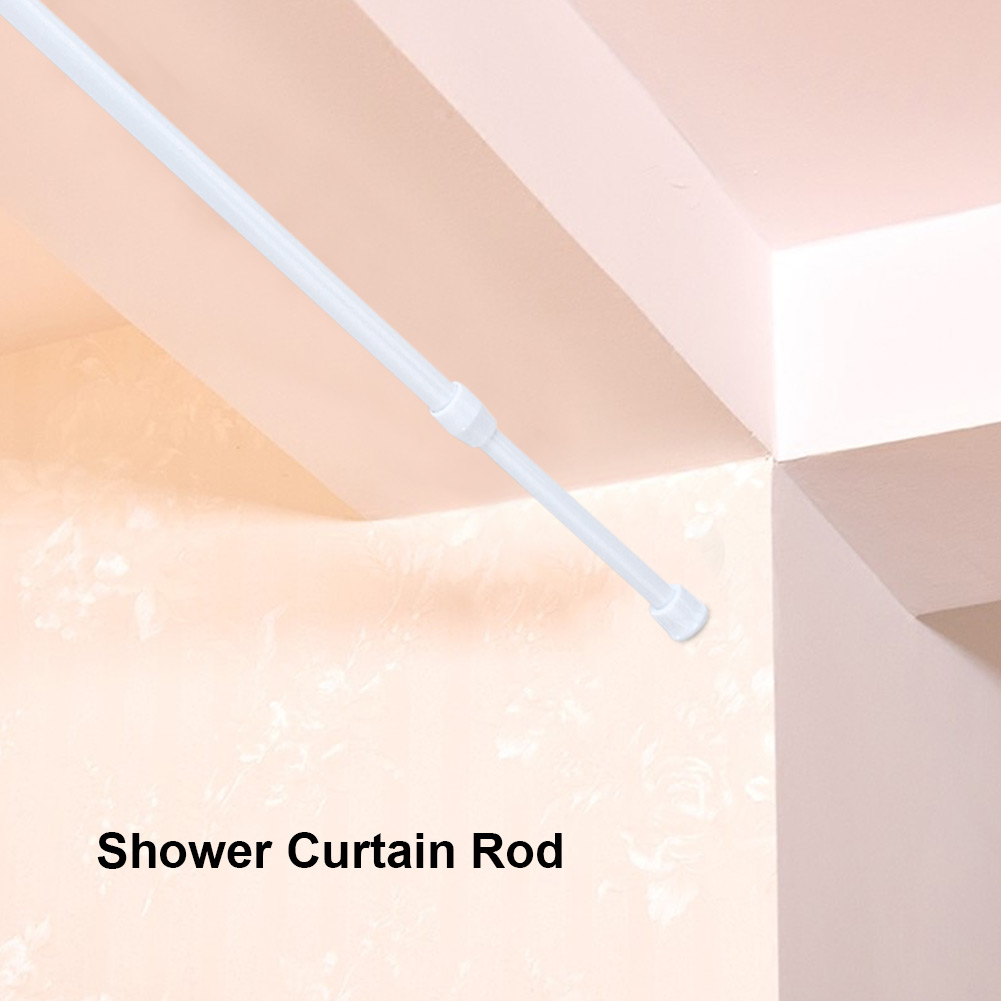30 50 Cm Extendable Spring Loaded Tension Rod Shower Curtain Window