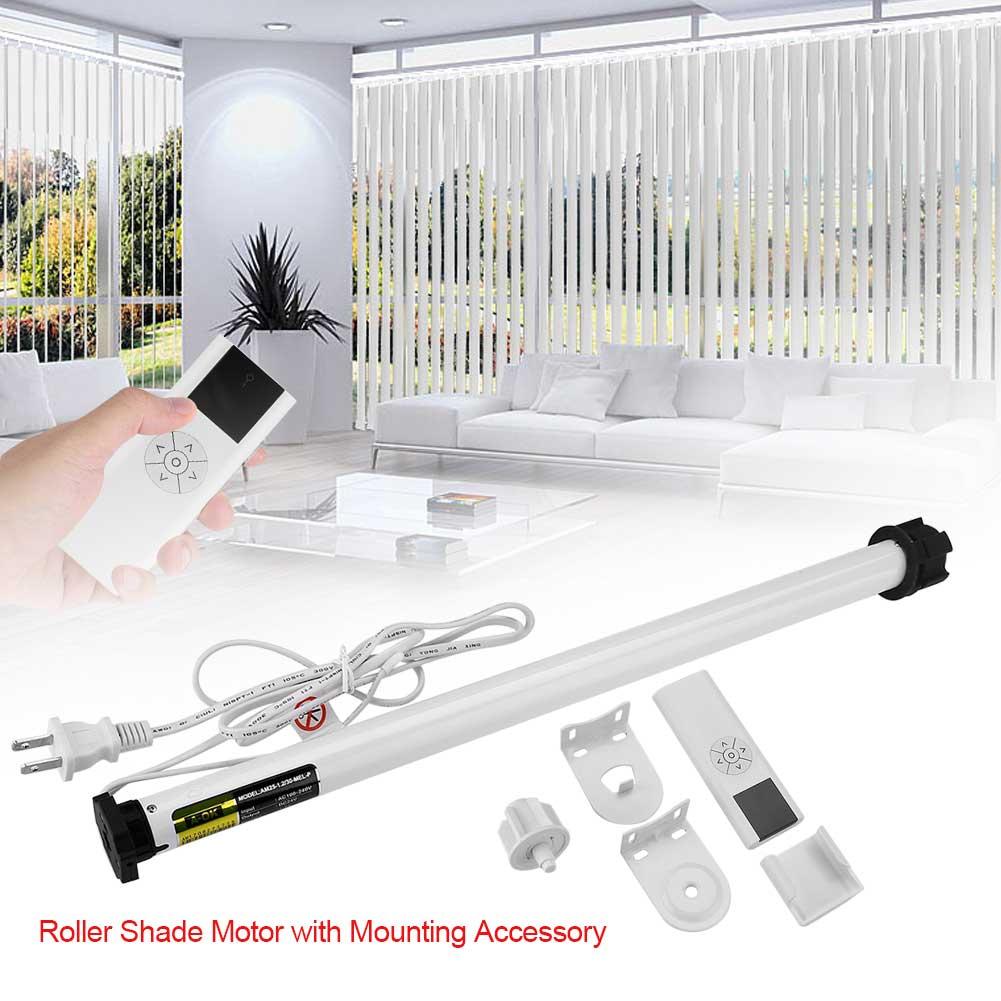 Electric Roller Blind DIY Roller Shade Tubular Motor ...