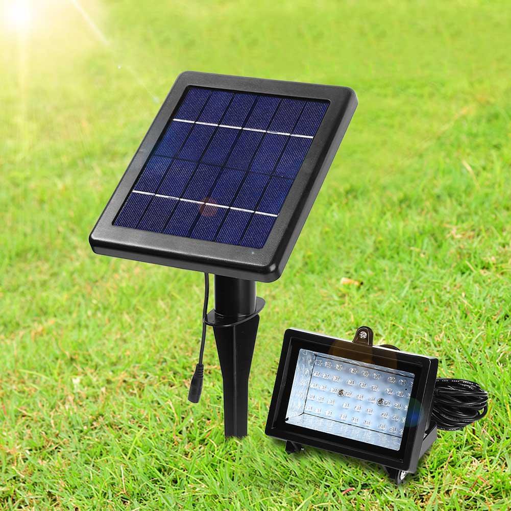 led lampe solaire clairage ext rieur lumi re jardin recharge automatique ebay. Black Bedroom Furniture Sets. Home Design Ideas