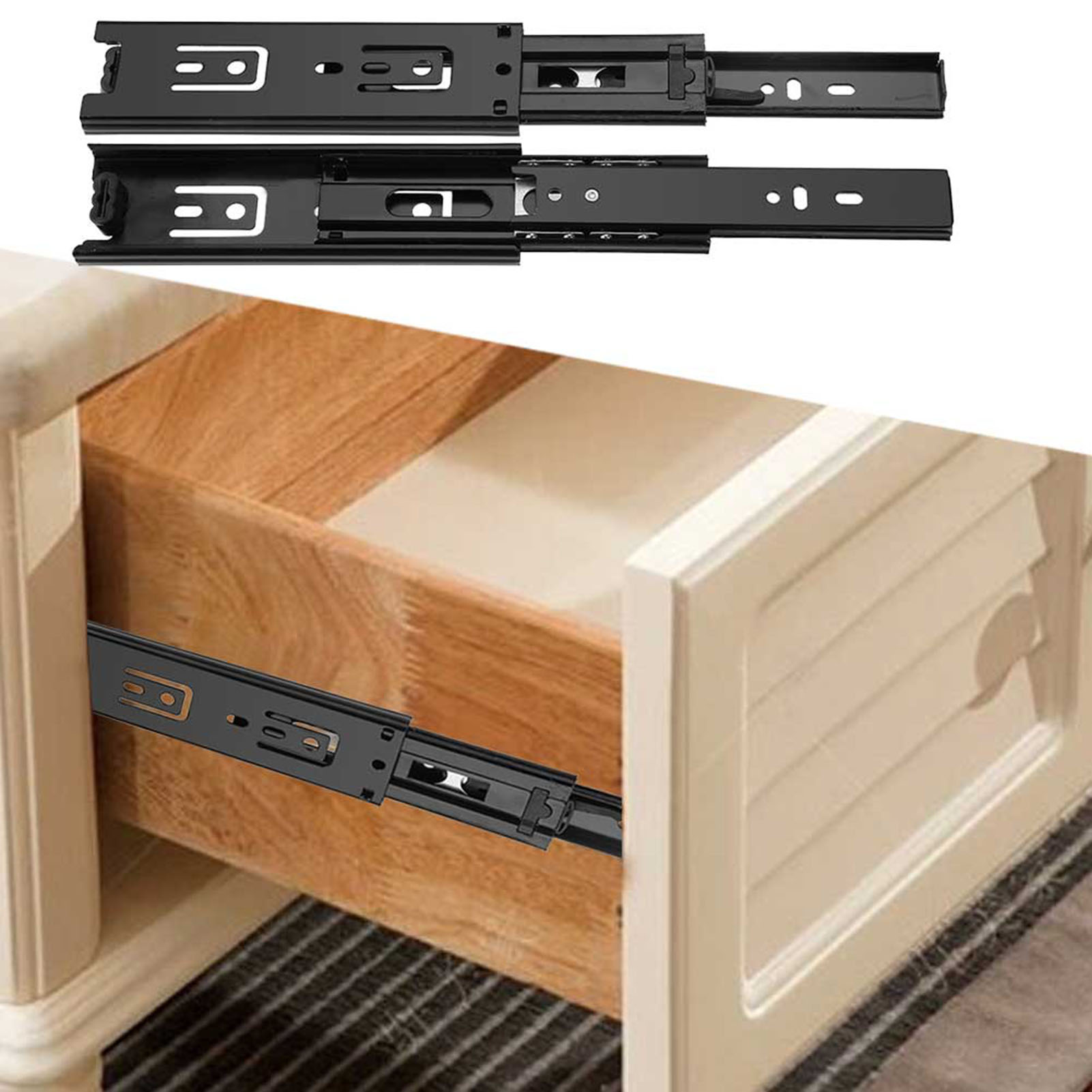 2pcs Short Drawer Slides Furniture