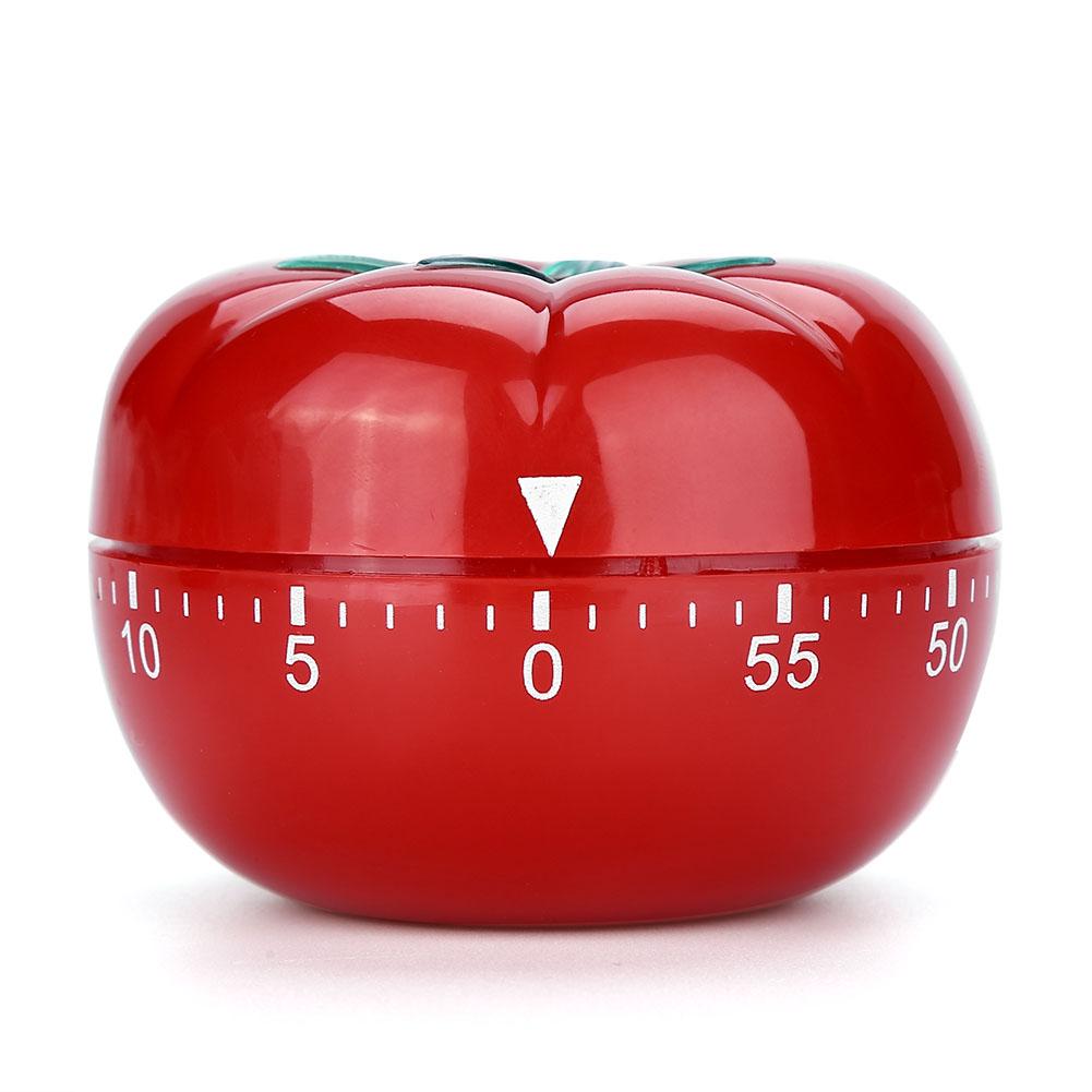 Timer-Da-Cucina-Meccanico-A-Forma-Di-Pomodoro-Cottura-Alimenti-60-Minuti-dfh miniatura 15