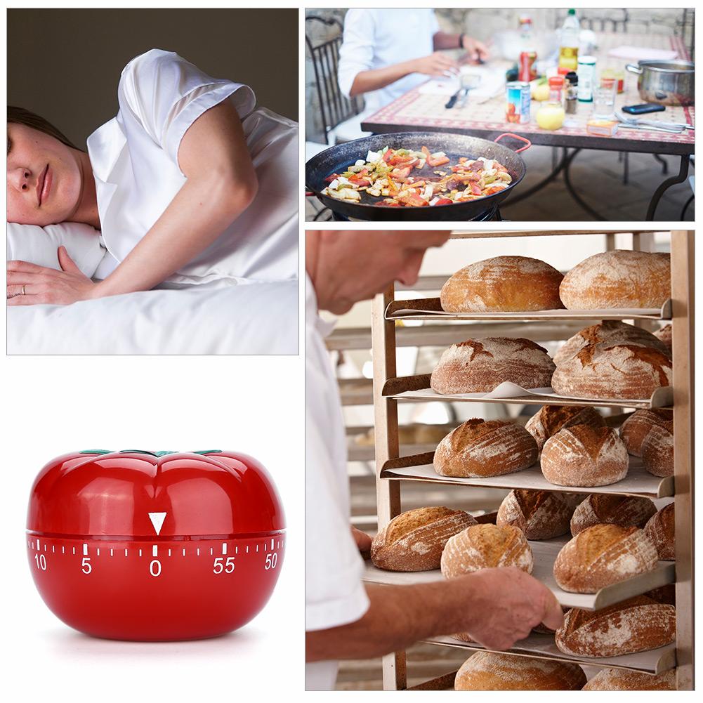 Timer-Da-Cucina-Meccanico-A-Forma-Di-Pomodoro-Cottura-Alimenti-60-Minuti-dfh miniatura 20