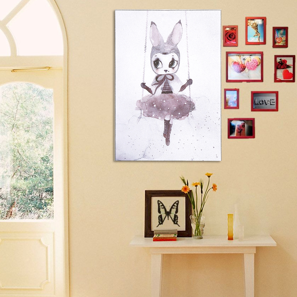 Cartoon-Canvas-Art-Prints-Poster-Wall-Hanging-Picture-Nursery-Kids-Room-Decor-TP