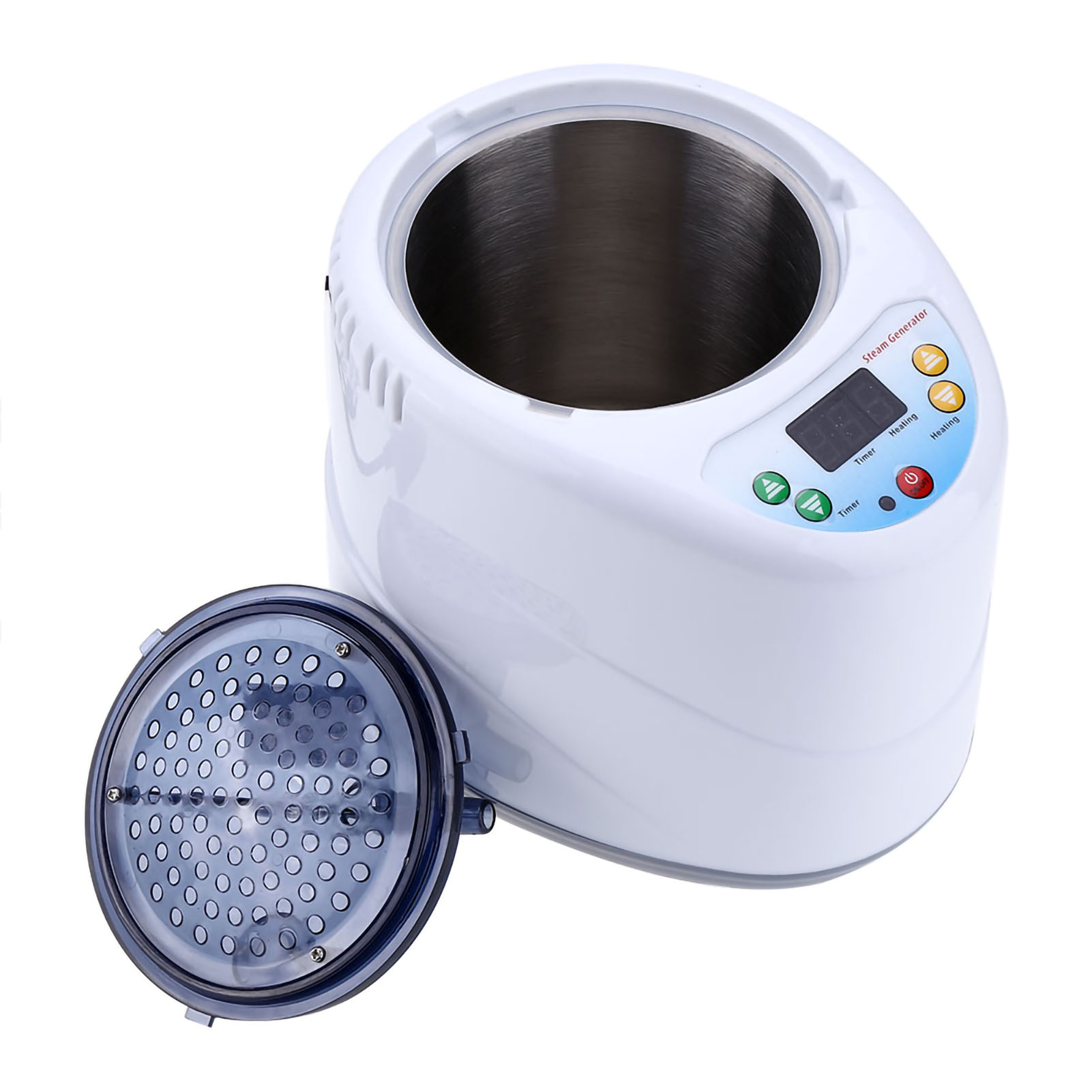 2L-Home-Steam-Sauna-Spa-Full-Body-Portable-Slimming-Loss-Weight-Detox-Therapy-HG thumbnail 177
