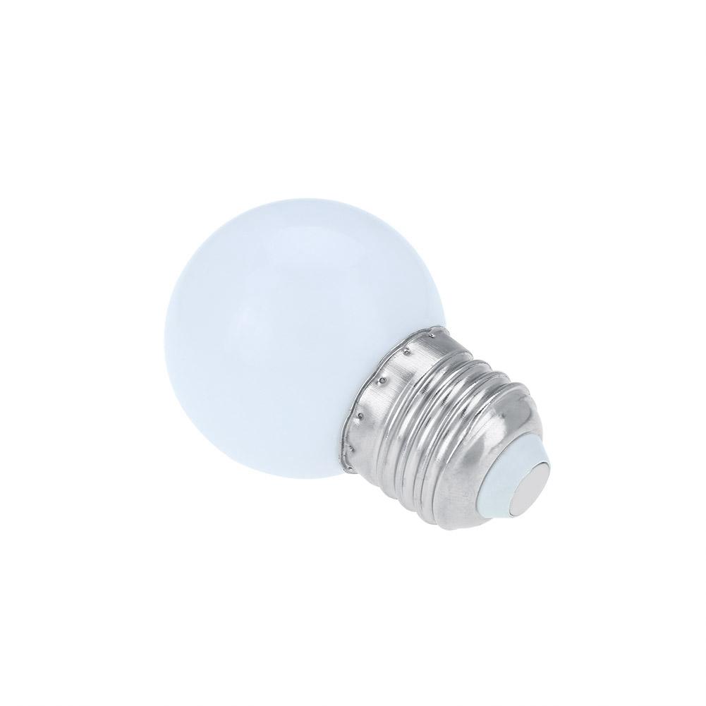 1/3W E27 Round Shaped LED Light Bulb Home Bar Party Festival Decor ...