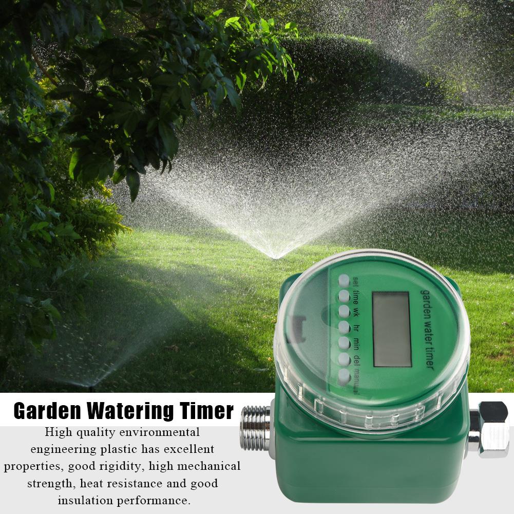 Auto-Digital-Electronic-Hose-Water-Timer-Outdoor-Garden-Irrigation-Controller-CO thumbnail 14