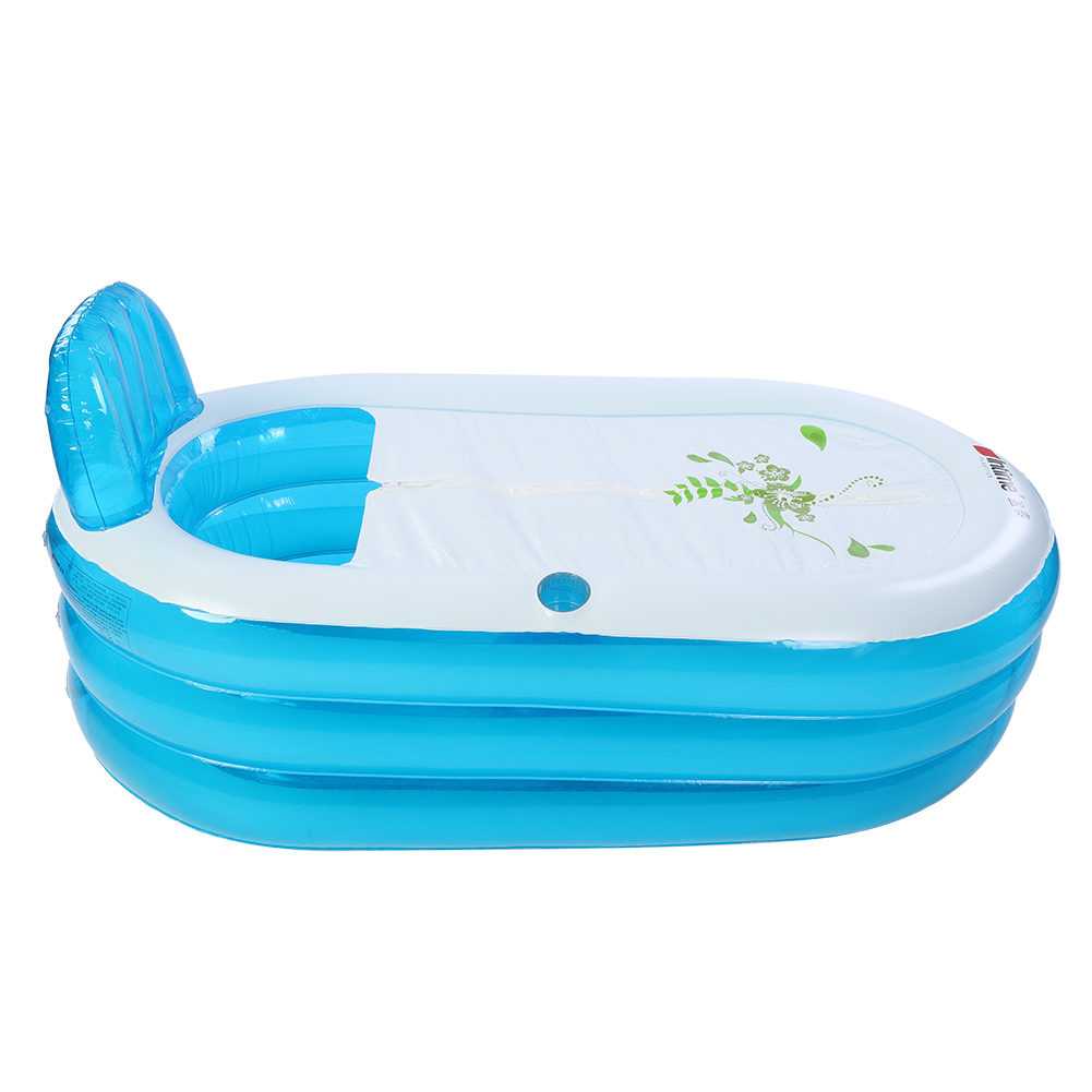 1.5m Portable Adult Child PVC Folding Portable Bathtub Warm ...