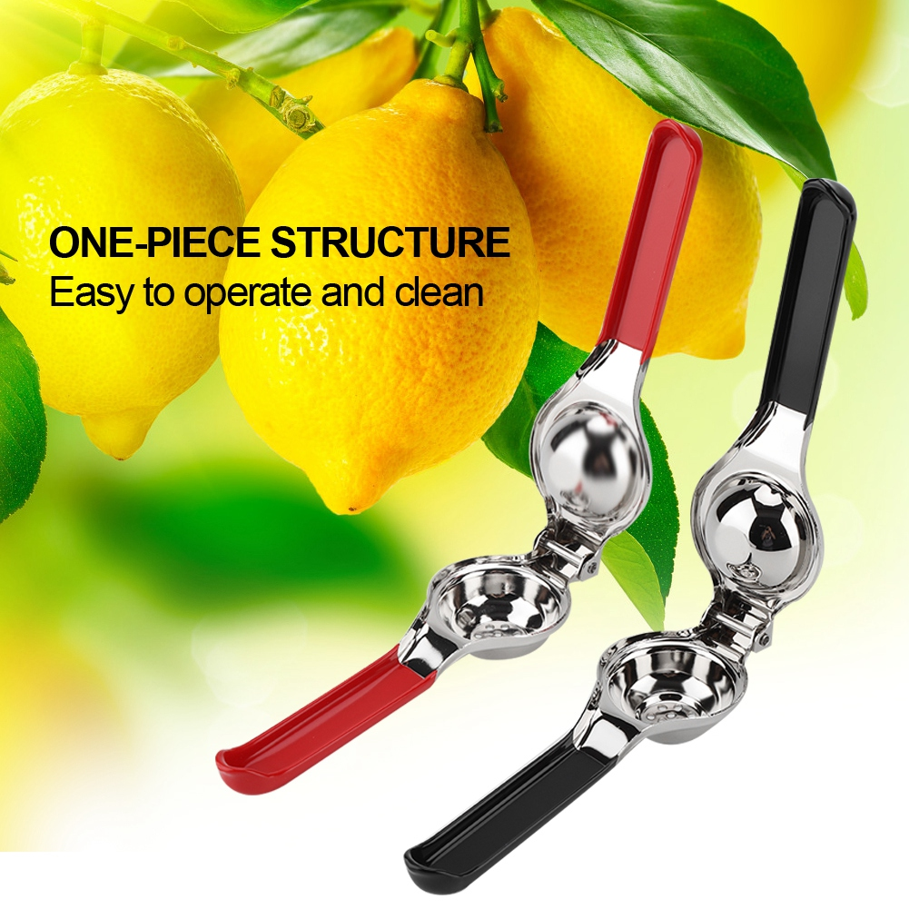 Lemon-Lime-Squeezer-Juicer-Stainless-Steel-Juicer-Manual-Hand-Press-Fruit-New