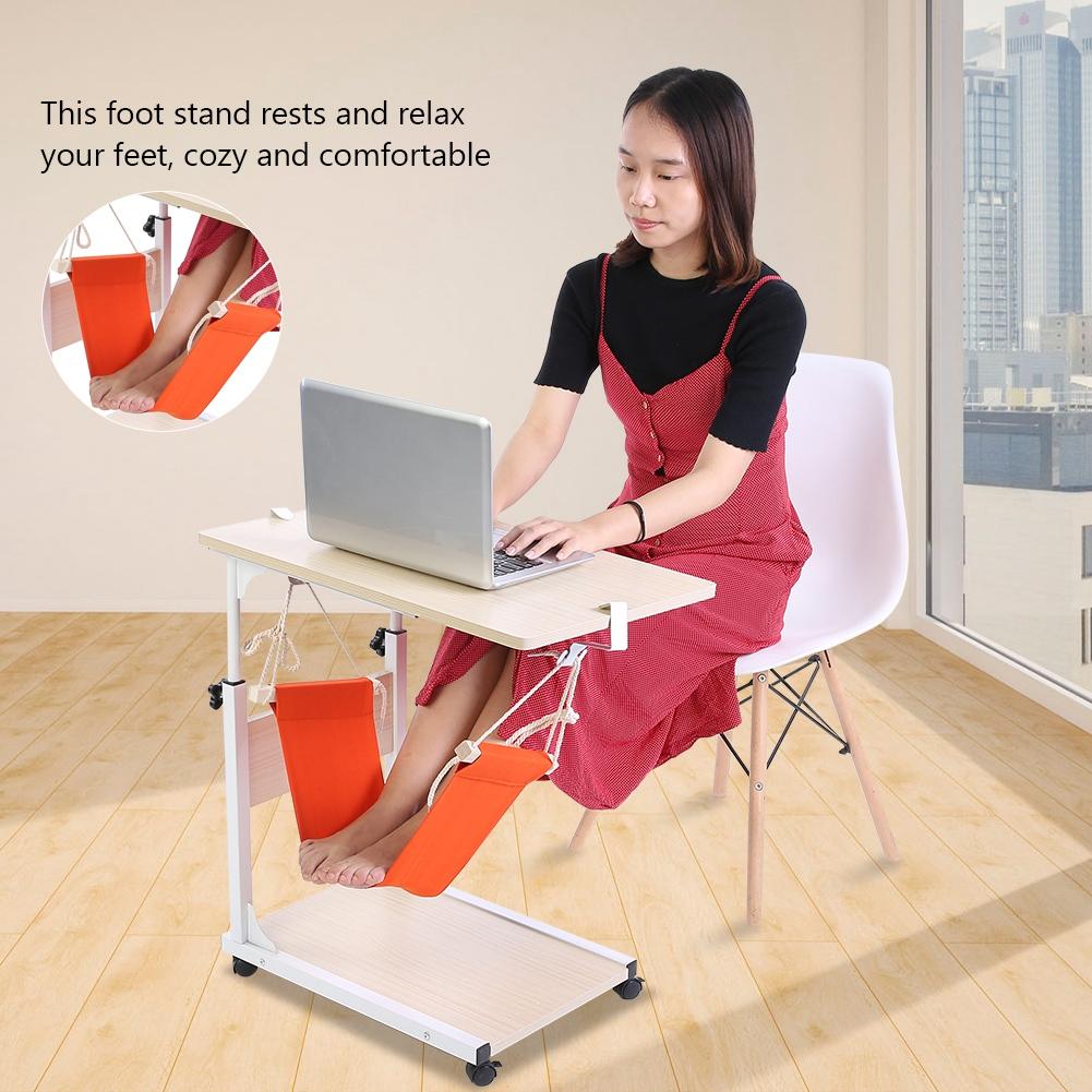 Adjustable Foot Hammock Desk Feet Hammock Stand Under The