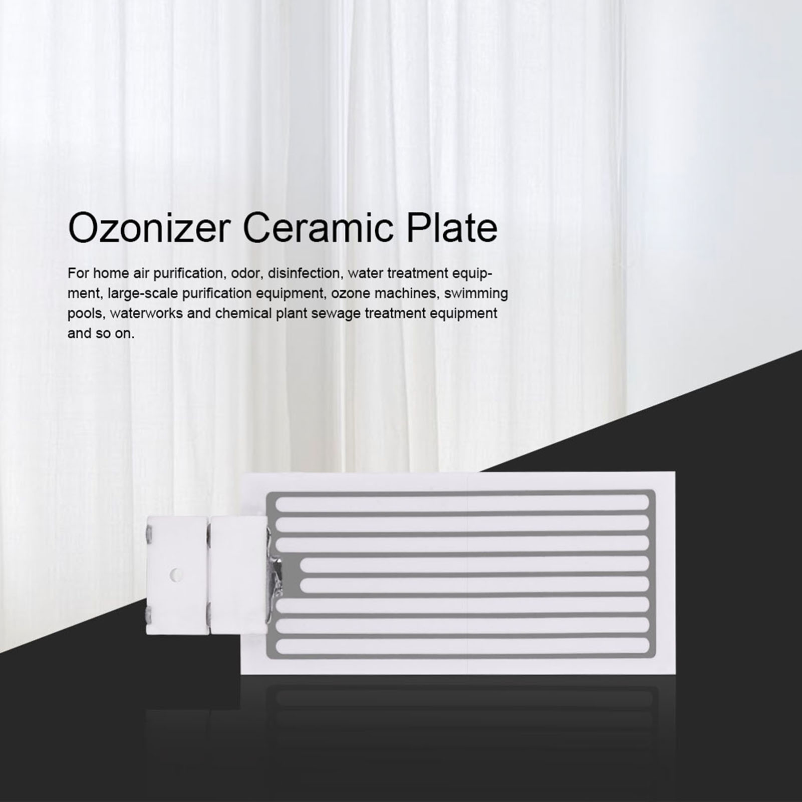 Ceramic-Plate-With-Ceramic-Base-For-10000-Hours-3-5g-5g-10g-Ozone-Generator-New thumbnail 14