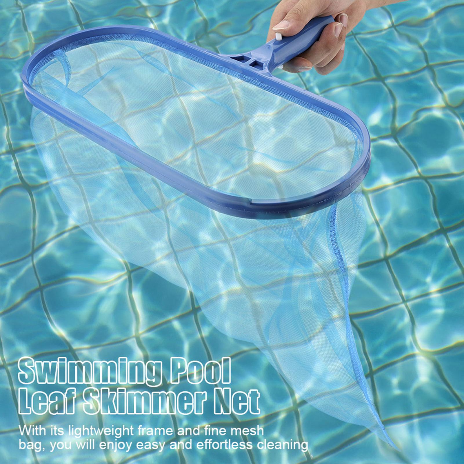 Portable Leaf Rake Mesh Frame Net Skimmer Cleaner Swimming Pool Spa ...