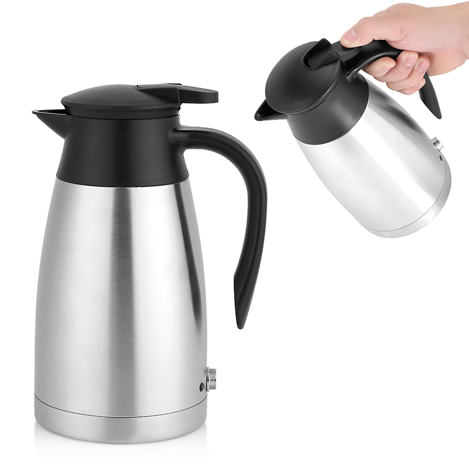 12 24v 1200ml Car Electric Heated Mug Water