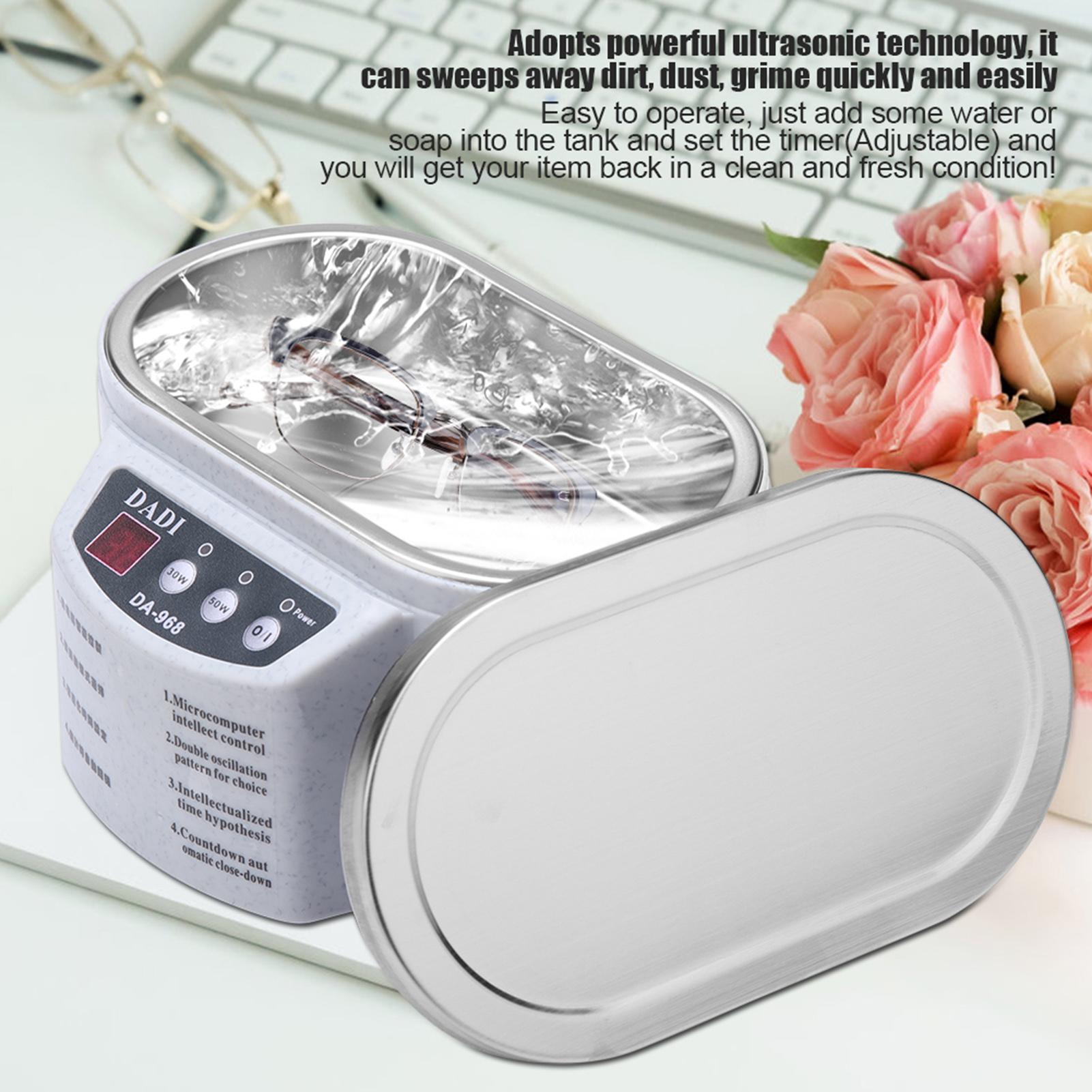 30w 50w Mini Ultrasonic Cleaner Bath For Cleaning Jewelry Glasses Circuit Board