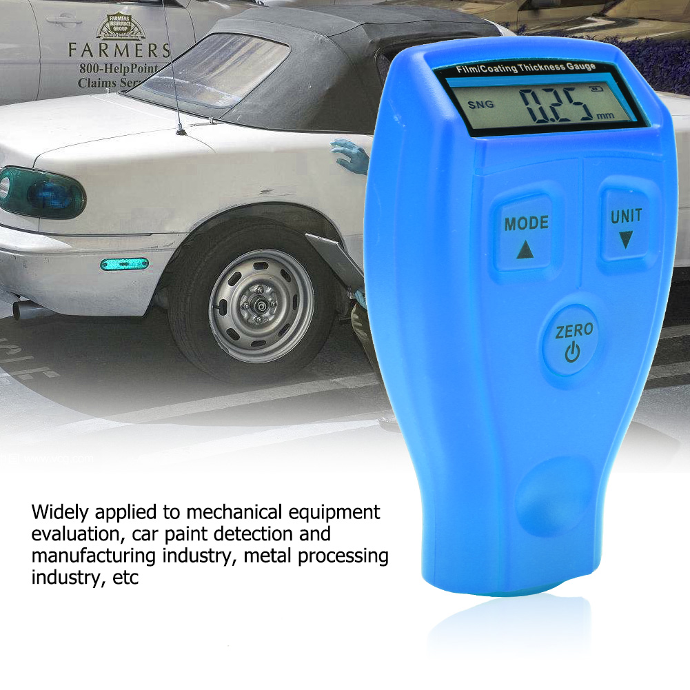 Mini-Car-Paint-Coating-Thickness-Gauges-Meter-Tester-Width-Measuring-Instruments miniature 19