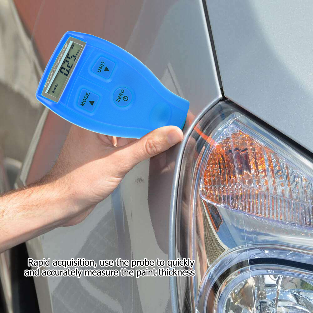 Mini-Car-Paint-Coating-Thickness-Gauges-Meter-Tester-Width-Measuring-Instruments miniature 20