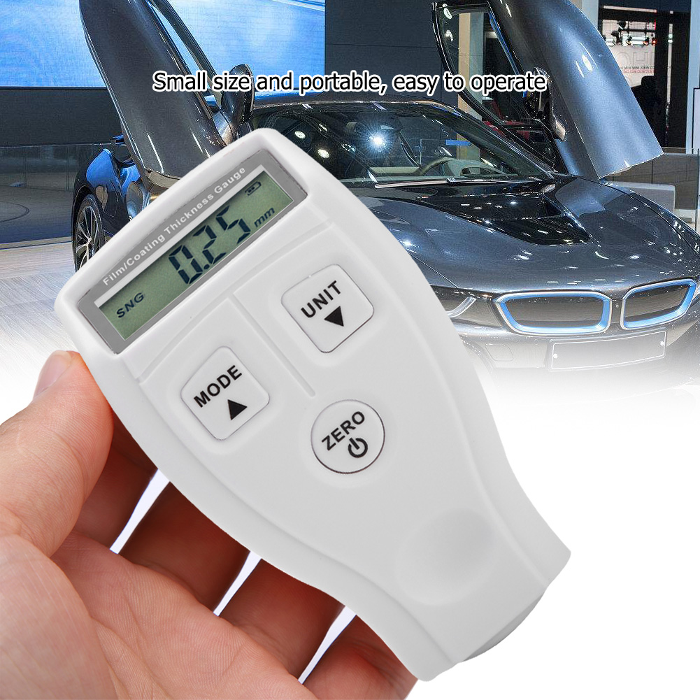 Mini-Car-Paint-Coating-Thickness-Gauges-Meter-Tester-Width-Measuring-Instruments miniature 30