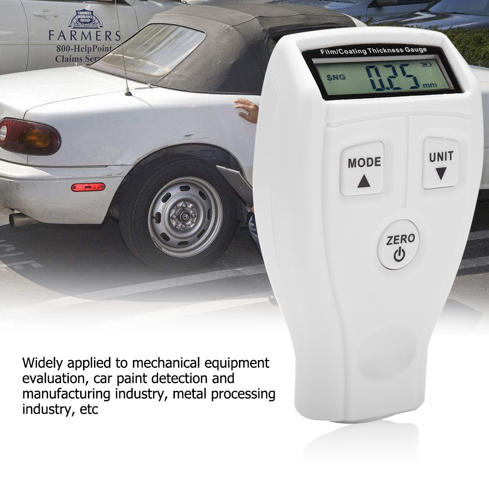 Mini-Car-Paint-Coating-Thickness-Gauges-Meter-Tester-Width-Measuring-Instruments miniature 31