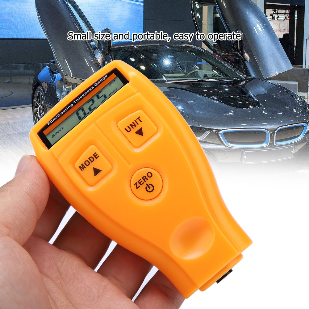 Mini-Car-Paint-Coating-Thickness-Gauges-Meter-Tester-Width-Measuring-Instruments miniature 42