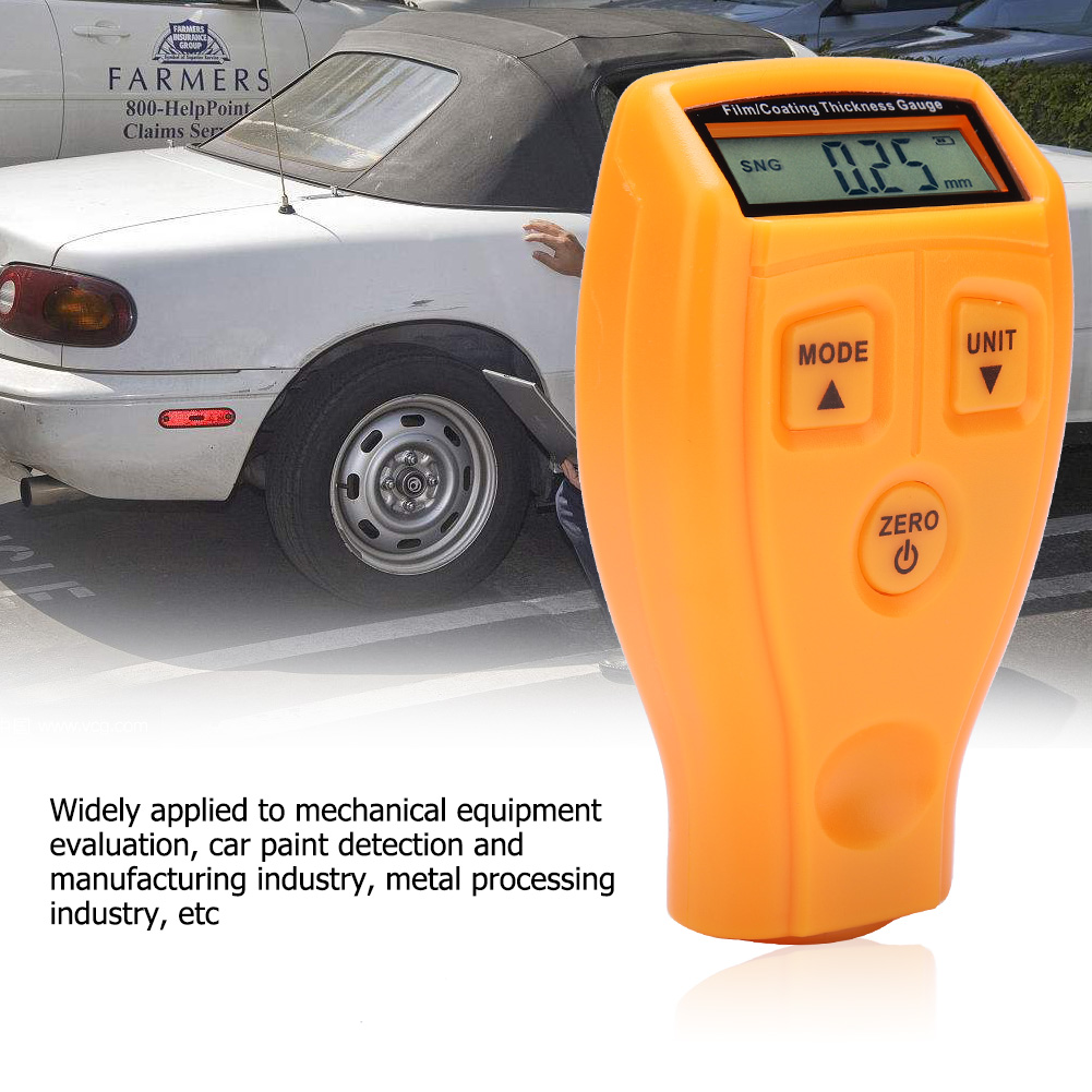 Mini-Car-Paint-Coating-Thickness-Gauges-Meter-Tester-Width-Measuring-Instruments miniature 43