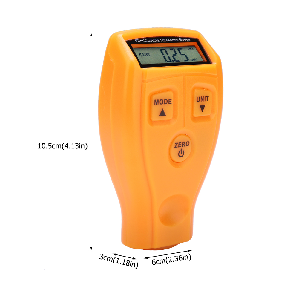 Mini-Car-Paint-Coating-Thickness-Gauges-Meter-Tester-Width-Measuring-Instruments miniature 45
