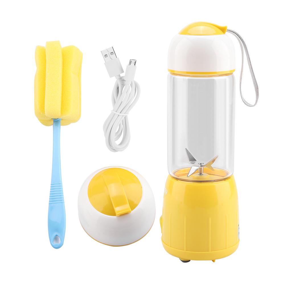 380ml Portable USB Electric Fruit Juicer Handheld Blender Ju