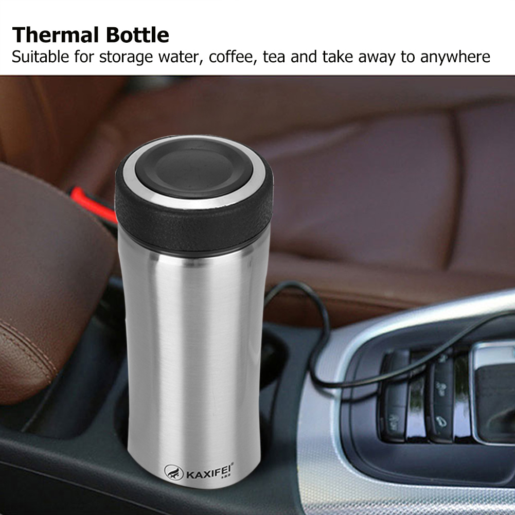 Thermos-Coffee-Travel-Mug-Tea-Stainless-Steel-Vacuum-Flask-Water-Bottle-Cup-New thumbnail 42